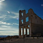 Abandoned structure, Rhyolite Ghost Town