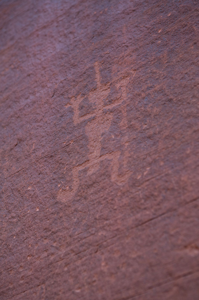 Petroglyph of Kokopelli