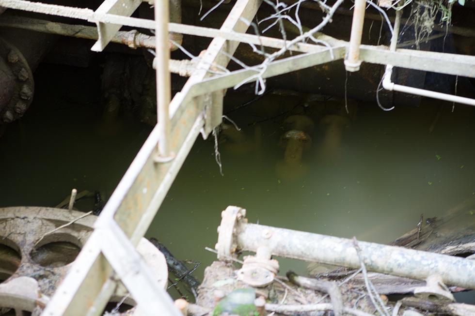 Submerged equipment