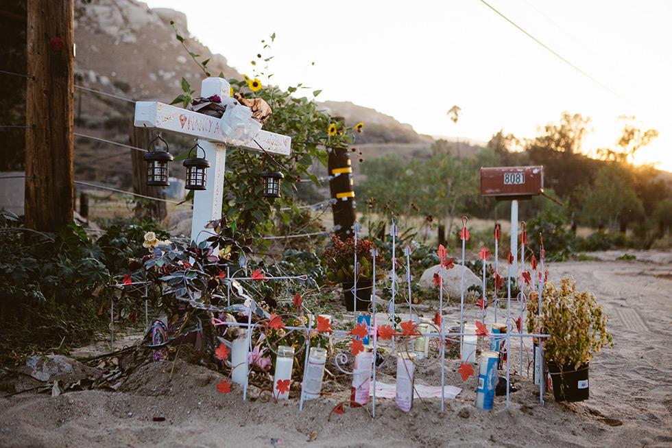 Reche Canyon memorial
