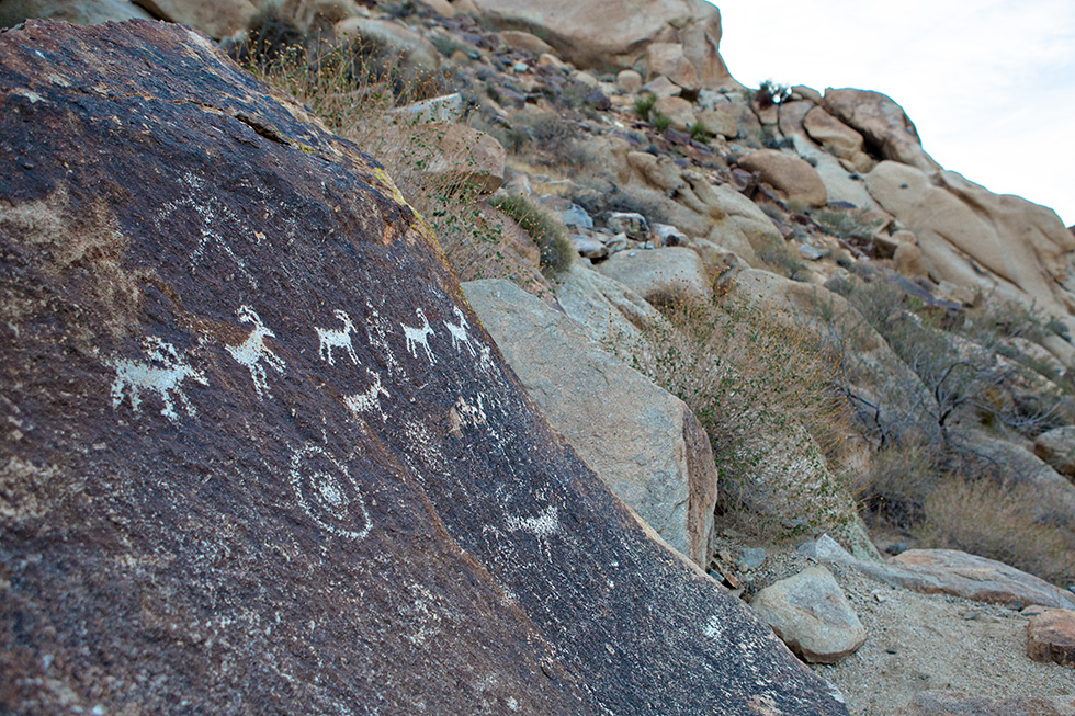Indian Petroglyphs near Laughlin