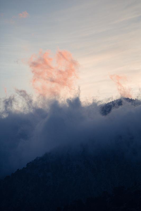 Mt. Baldy Cloud Sunset