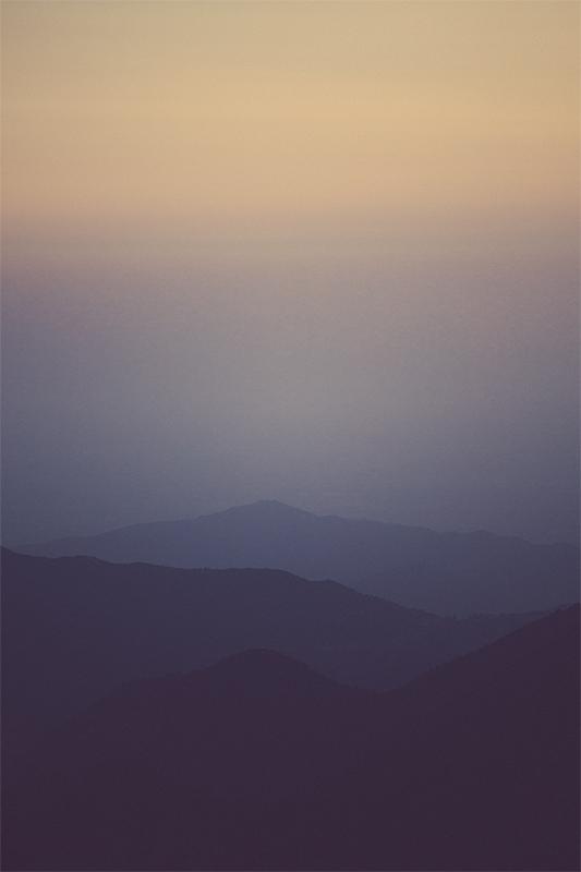 Mt. Baldy Mountain Sunset