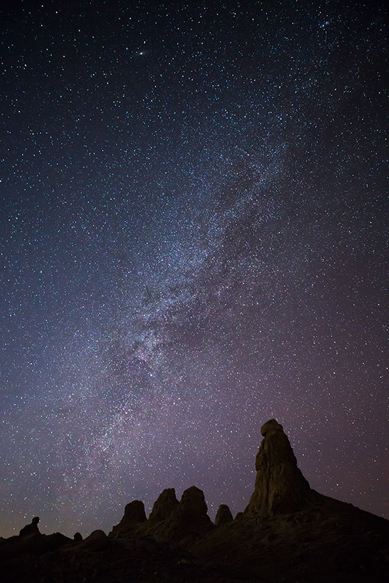 Jake Reinig Trona Pinnacles Milky Way