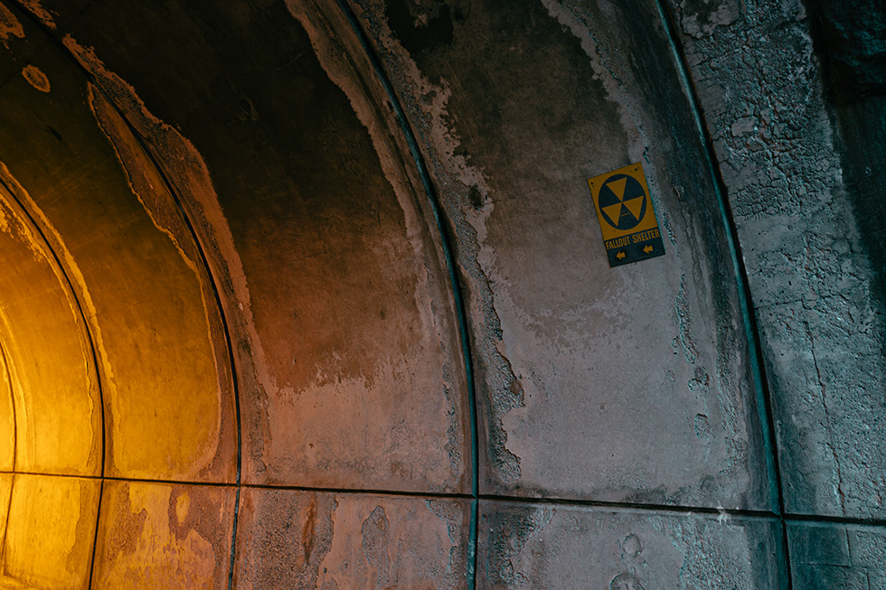 Fallout shelter tunnel