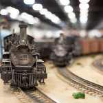 Anaheim Convention Center Model Train Expo-