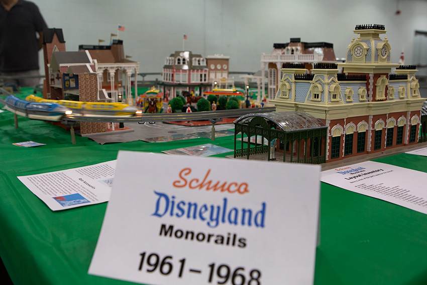 Anaheim Convention Center Model Train Expo-Disneyland Monorail by Schuco
