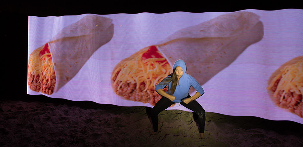 PixelStick Sumo Burrito