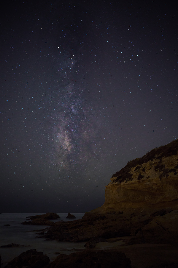 Three Arch Bay, Laguna Beach, Milky Way