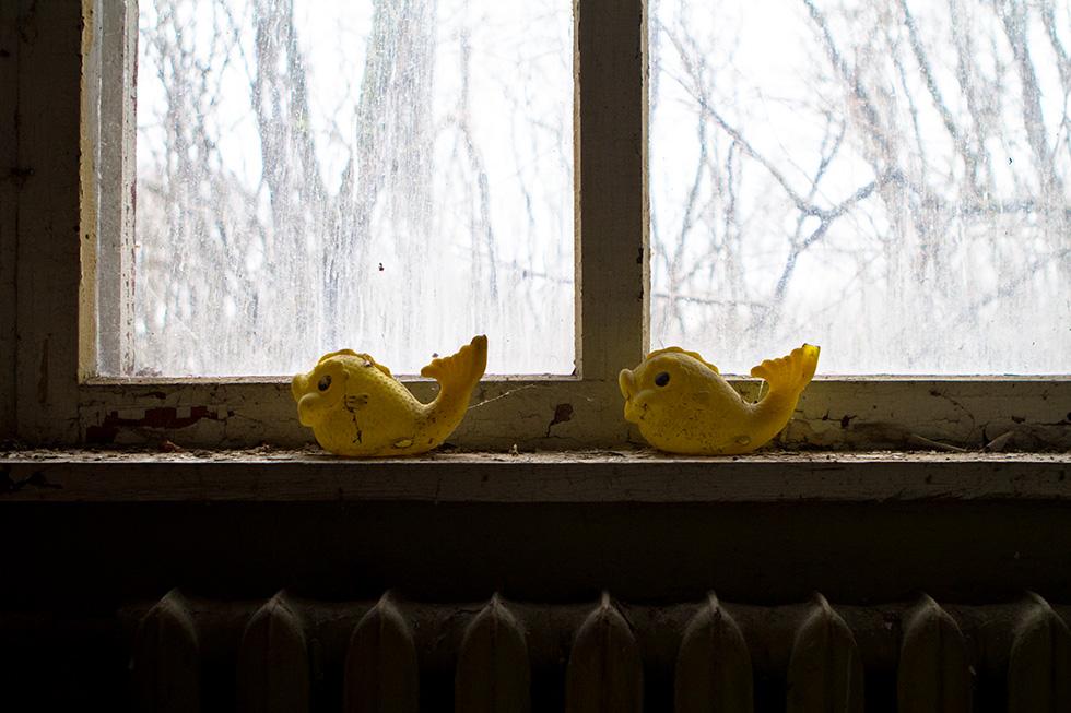 Chernobyl window toys