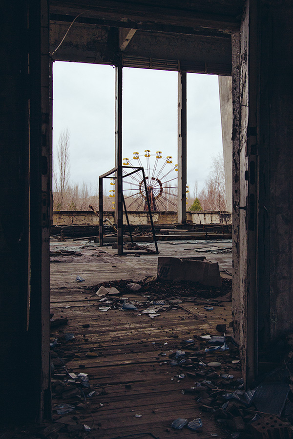 Chernobyl gym ferris wheel