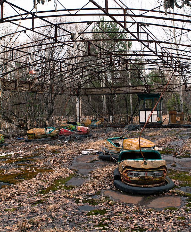 Chernobyl Prypyat bumper cars