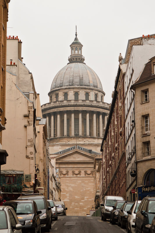 Pantheon, as seen from a nearby street