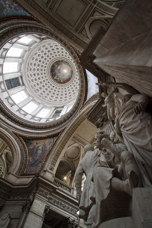 Interior dome of the Pantheon