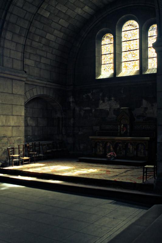 Crypt at Sacre-Coeur
