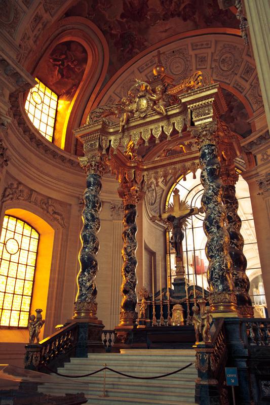Altar at Invalides