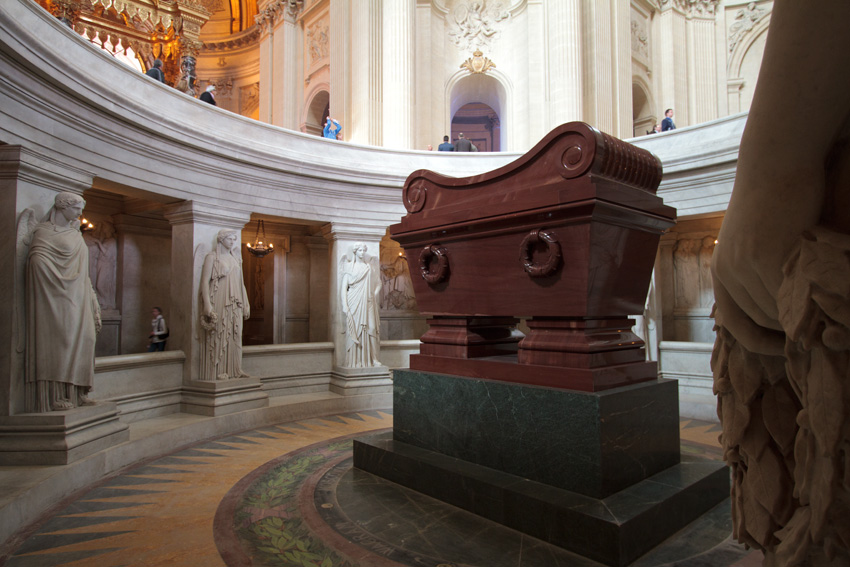 Napolean's massive tomb