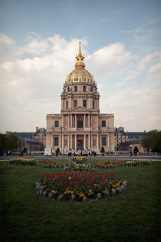 Exterior of the Hotel des Invalides