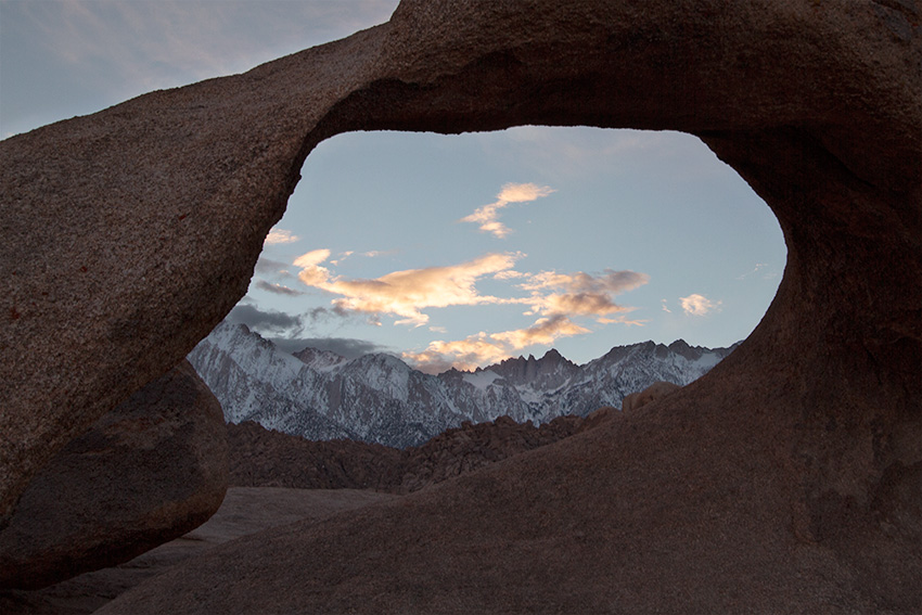 Jake Reinig Travel Photography Alabama Hills Mobius Arch