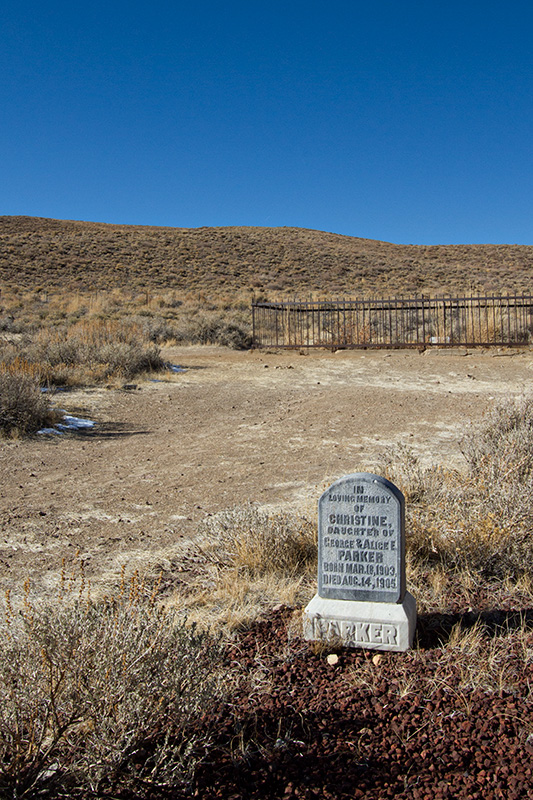 Jake Reinig Travel Photography | Bodie Ghost Town |  Child's Grave, Cemetery