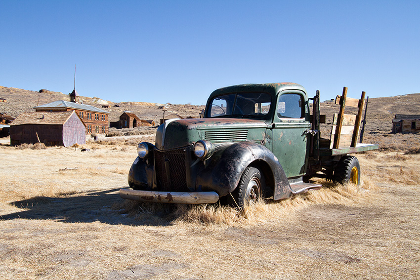 Jake Reinig Travel Photography | Bodie Ghost Town | Abandoned Truck