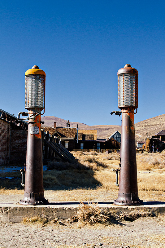Jake Reinig Travel Photography | Bodie Ghost Town |  Old Gas Station