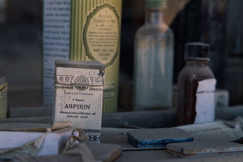 Jake Reinig Travel Photography | Bodie Ghost Town |  Medications