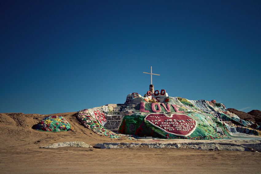Salvation Mountain, Slab City, Salton Sea