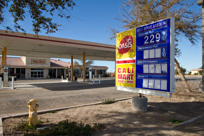 Gas station of years past