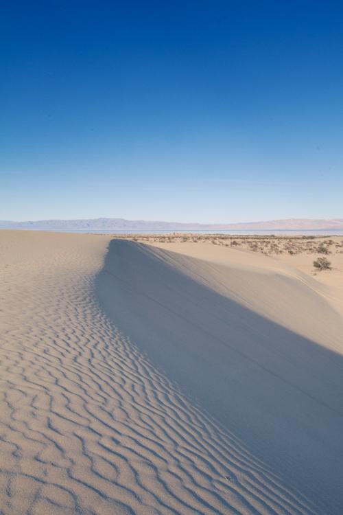 Sand dunes, Salton Sea