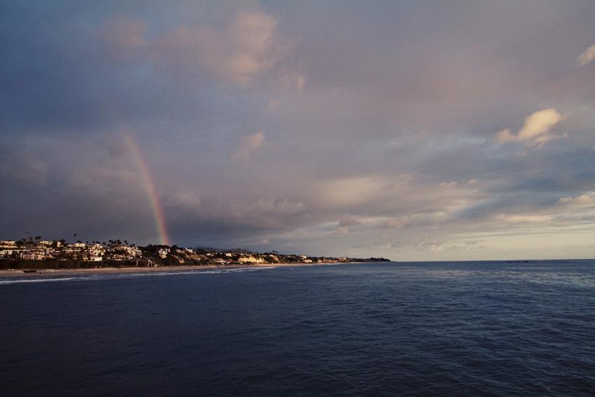San Clemente rainbow