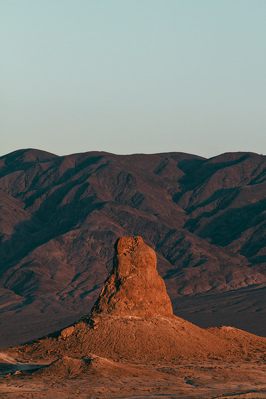 Jake Reinig Trona Pinnacles sunset
